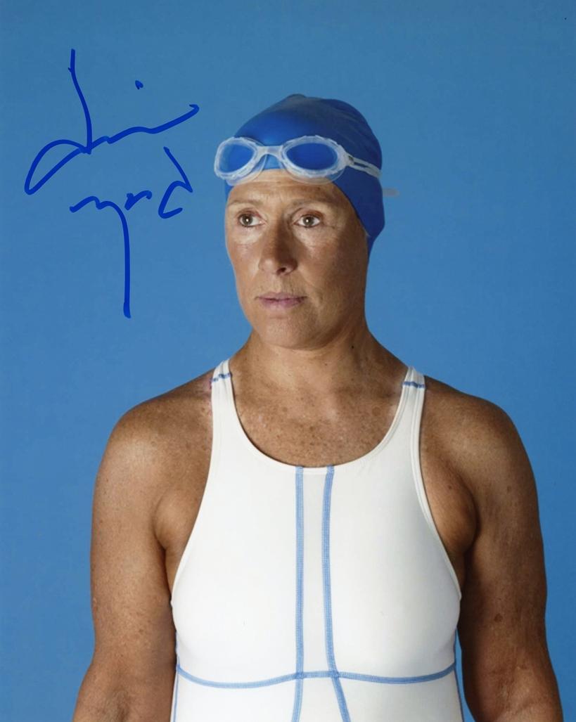 Diana Nyad Signed Photo
