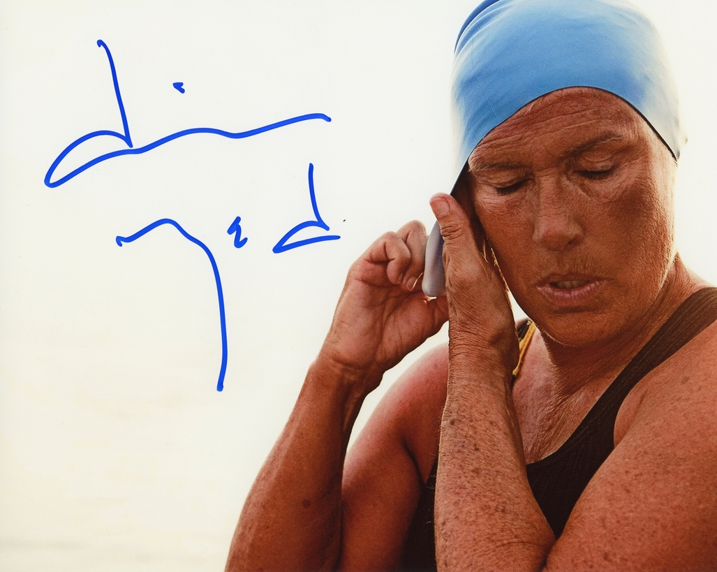 Diana Nyad Signed Photo