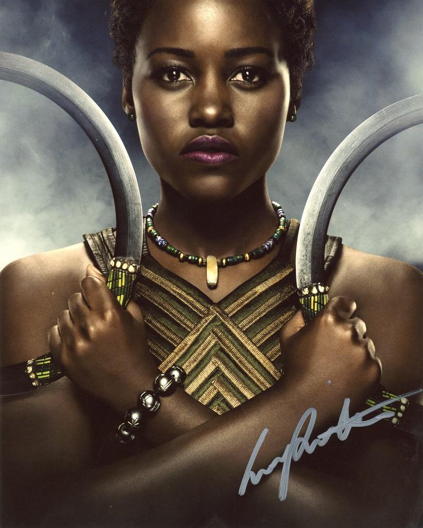 Lupita Nyong'o Signed Photo