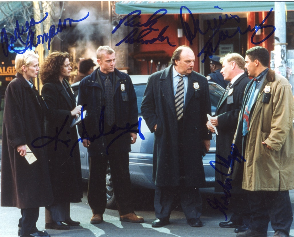 NYPD Blue Signed Photo