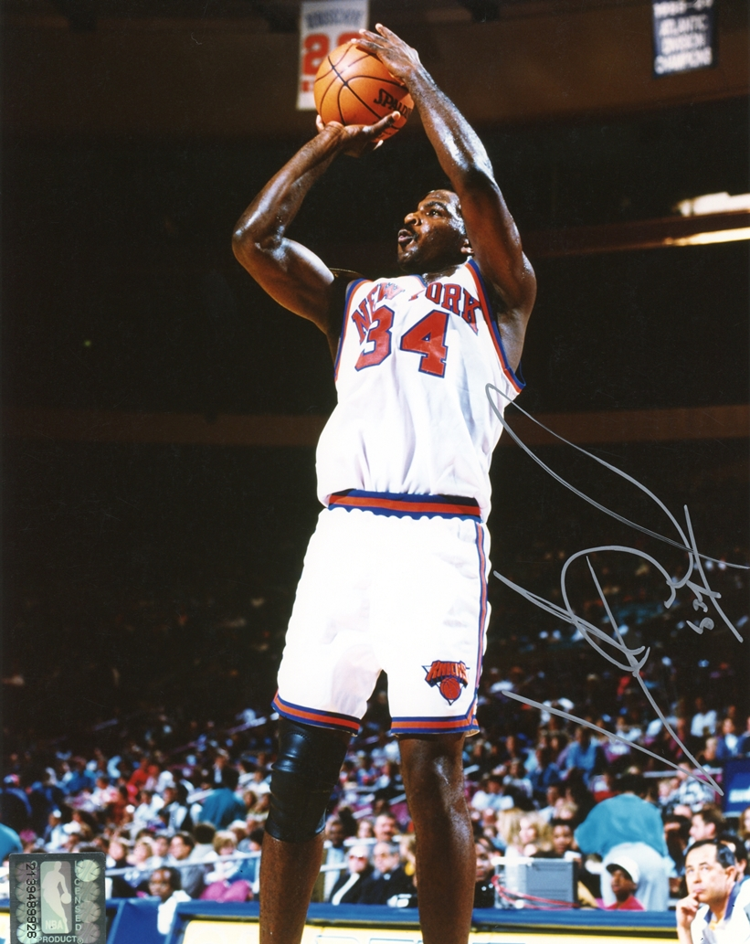 Charles Oakley Signed Photo