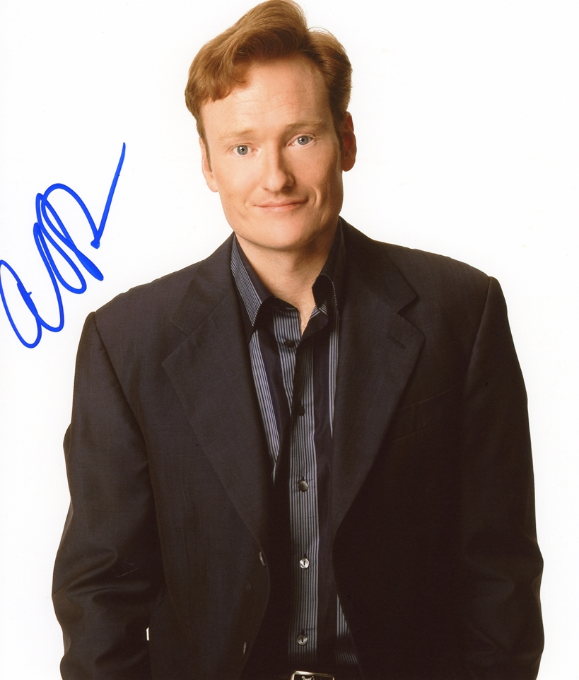 Conan O'Brien Signed Photo