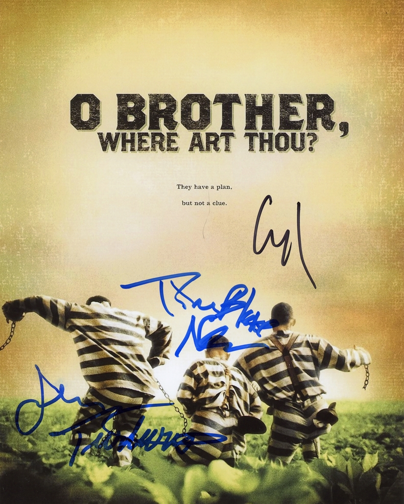 O Brother, Where Art Thou Signed Photo
