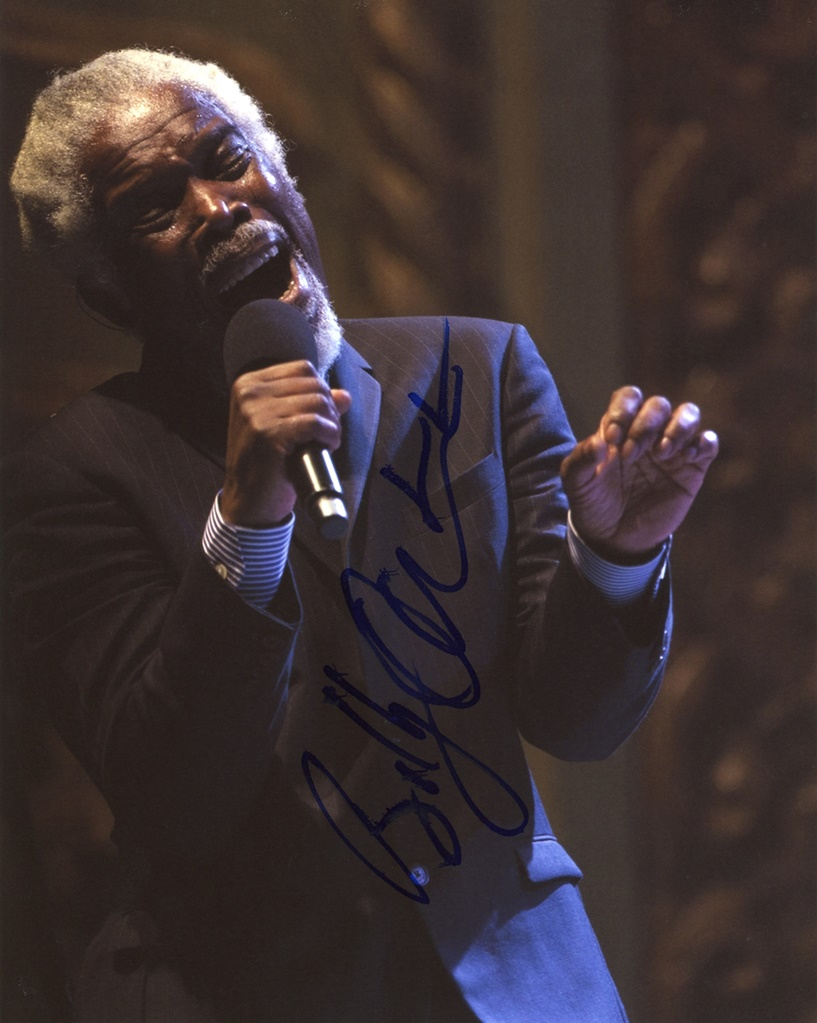 Billy Ocean Signed Photo