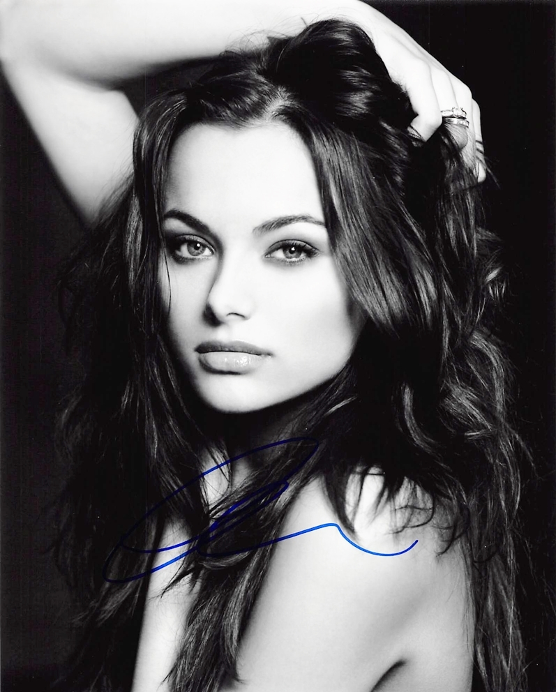 Christina Ochoa Signed Photo