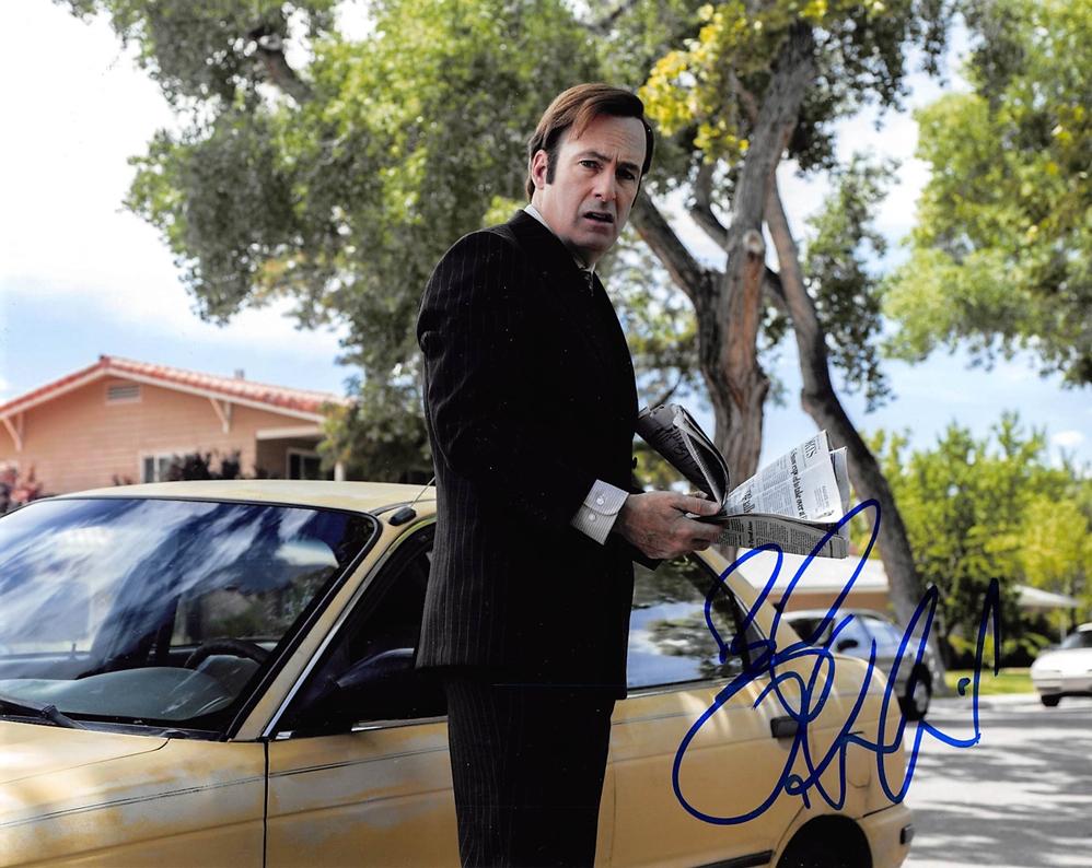 Bob Odenkirk Signed Photo