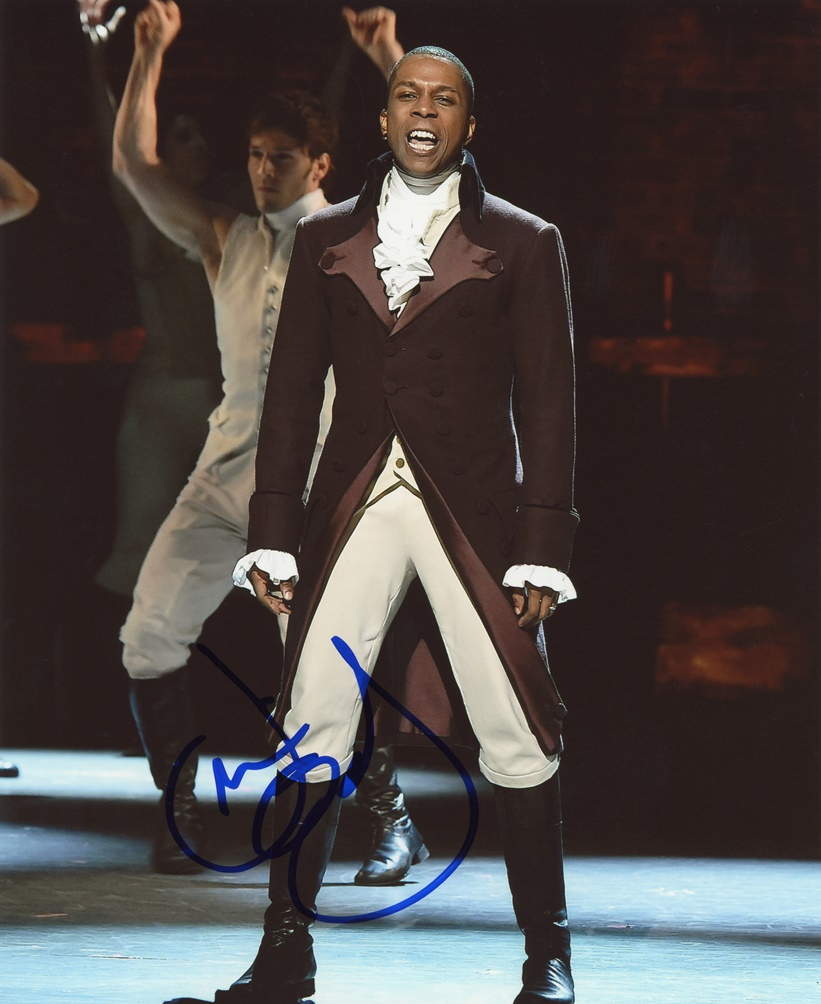 Leslie Odom, Jr. Signed Photo