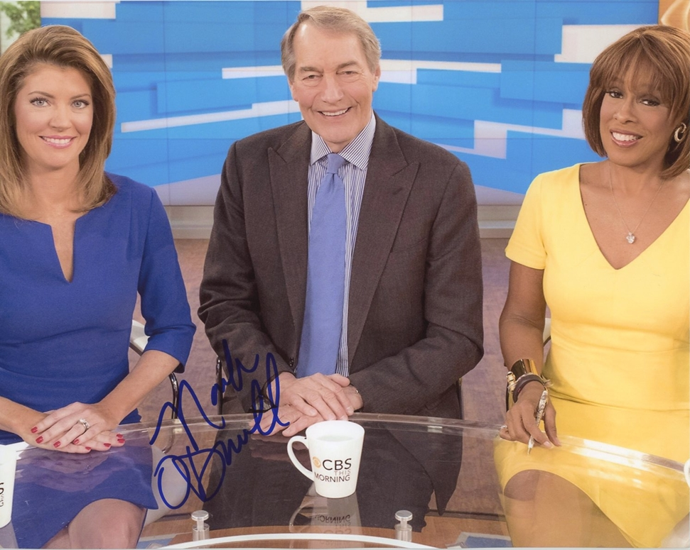 Norah O'Donnell Signed Photo
