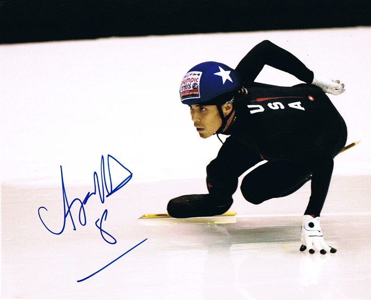 Apolo Anton Ohno Signed Photo