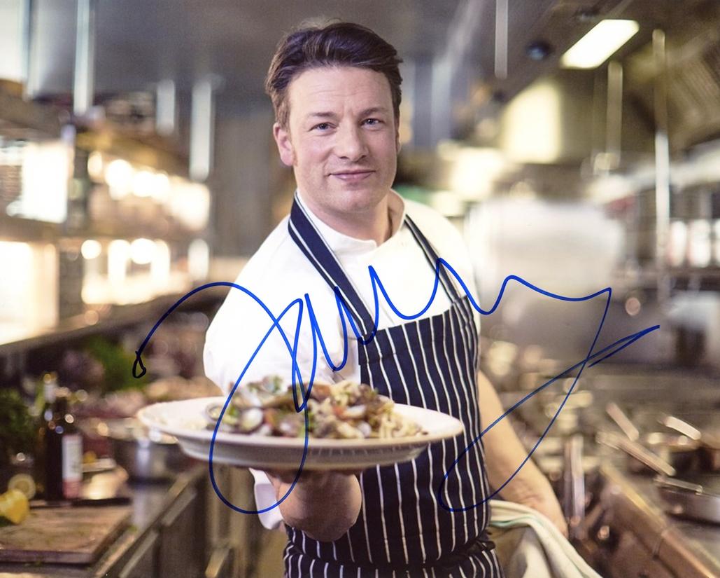 Jamie Oliver Signed Photo