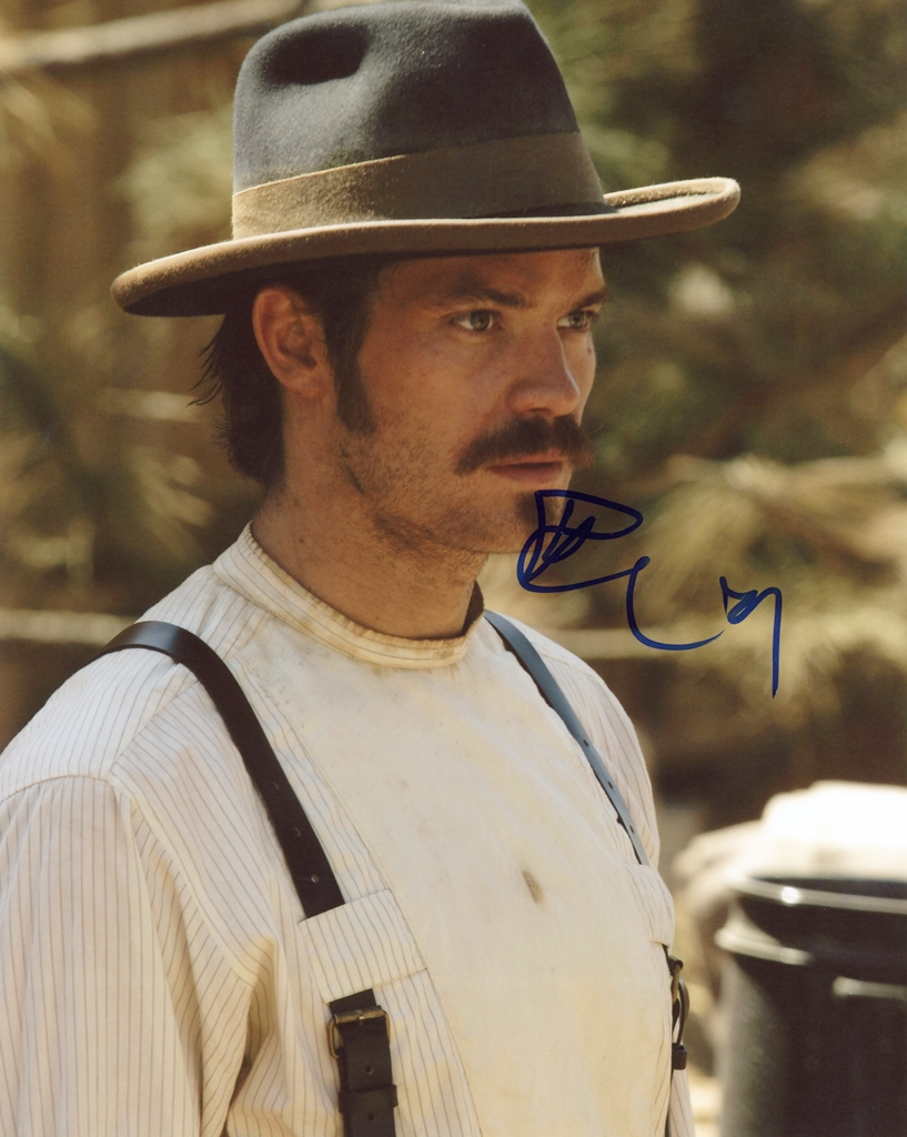 Timothy Olyphant. Signed Photo