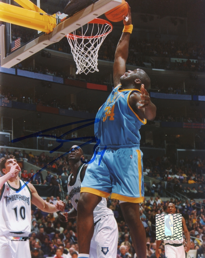 Shaquille O'Neal Signed Photo