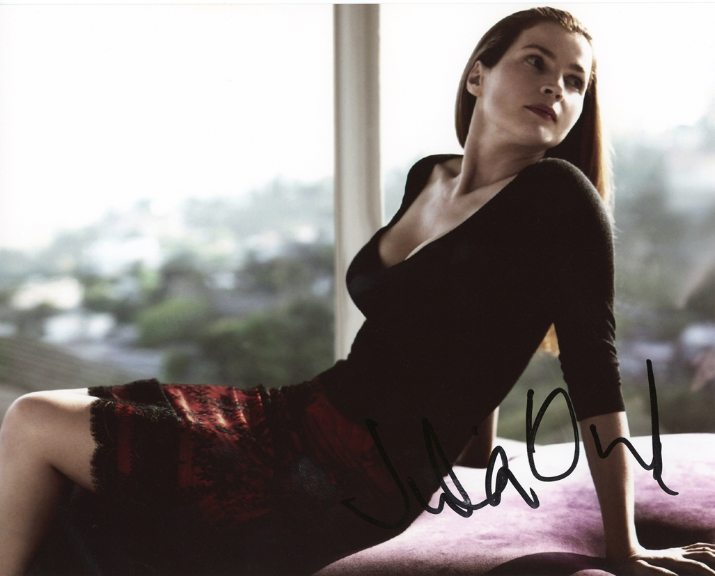 Julia Ormond Signed Photo