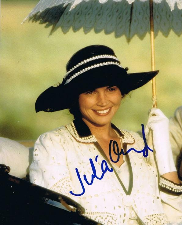 Julia Ormond Signed Photo