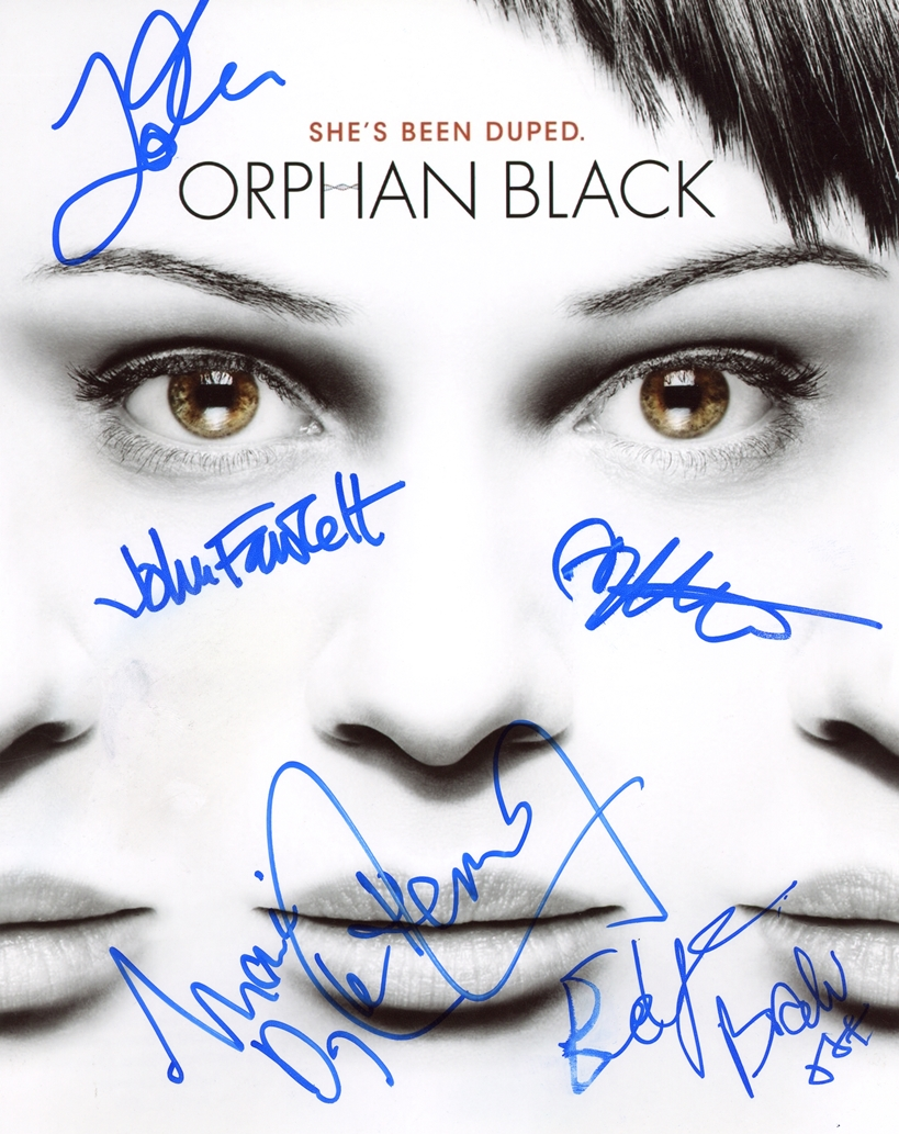 Orphan Black Signed Photo