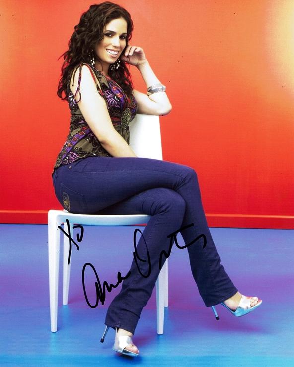 Ana Ortiz Signed Photo