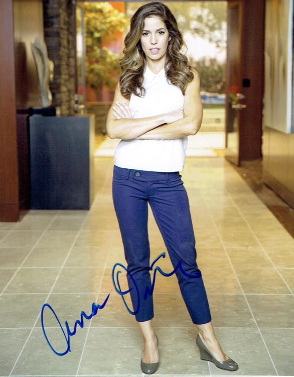 Ana Ortiz Signed Photo