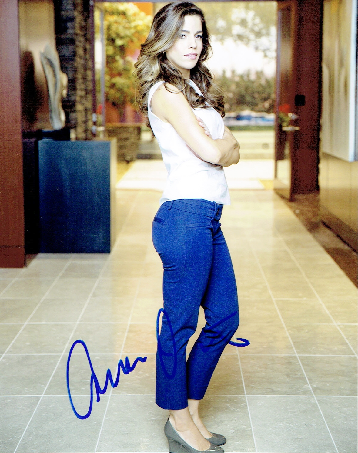 Ana Ortiz Pictures ana ortiz - devious maids autograph signed 8x10 photo f