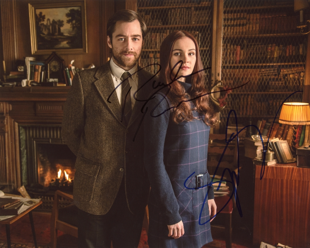 Richard Rankin & Sophie Skelton Signed Photo