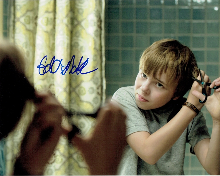 Ed Oxenbould Signed Photo