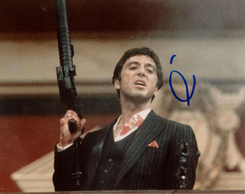 Al Pacino Signed Photo