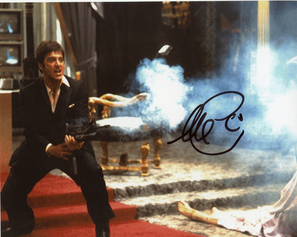 Al Pacino Signed Photo
