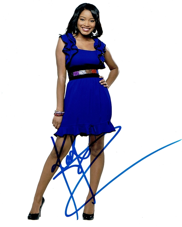 Keke Palmer Signed Photo
