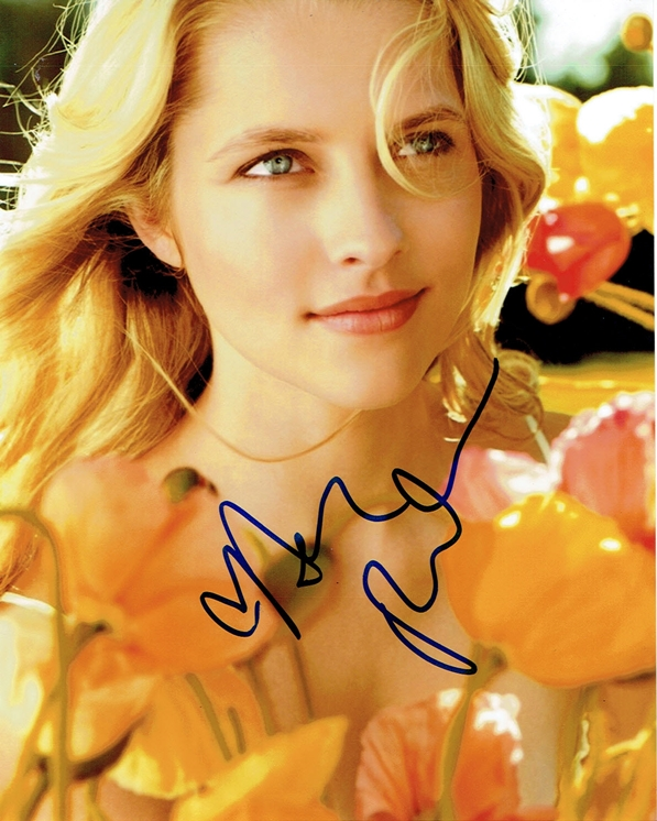 Teresa Palmer Signed Photo