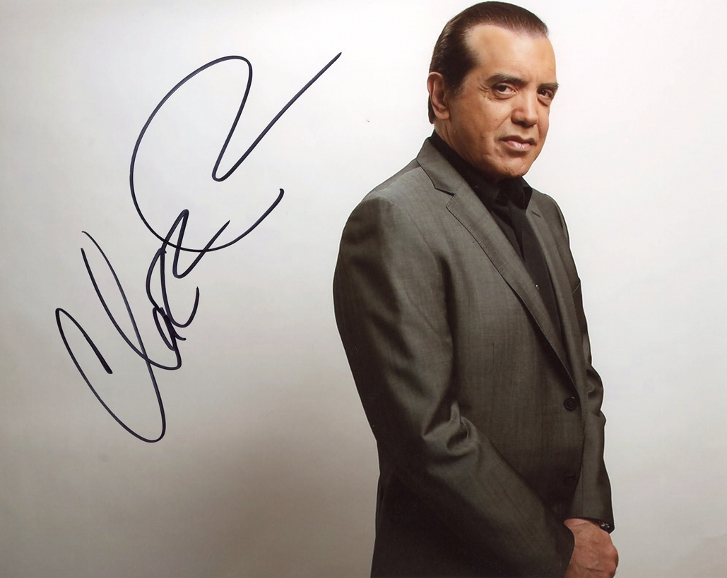 Chazz Palminteri Signed Photo