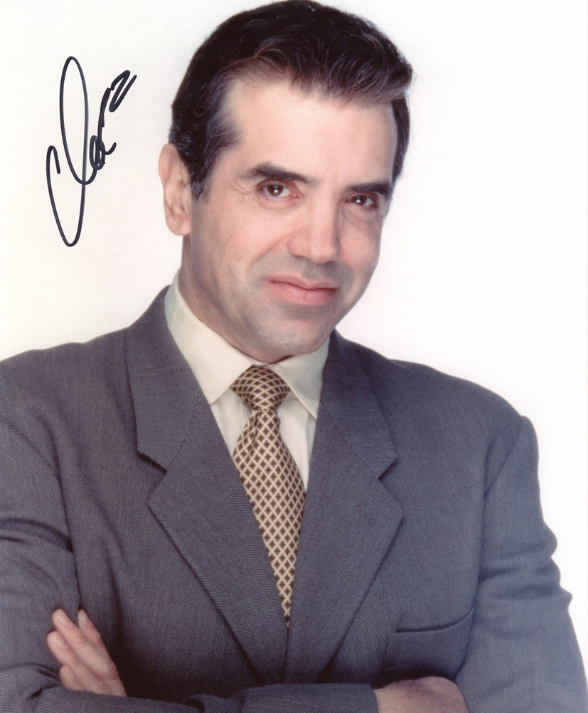 Chazz Palminteri Signed Photo