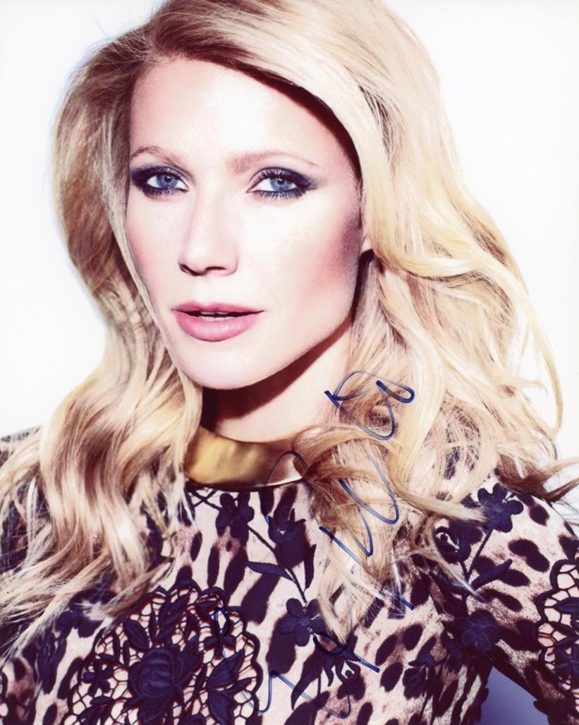 Gwyneth Paltrow Signed Photo