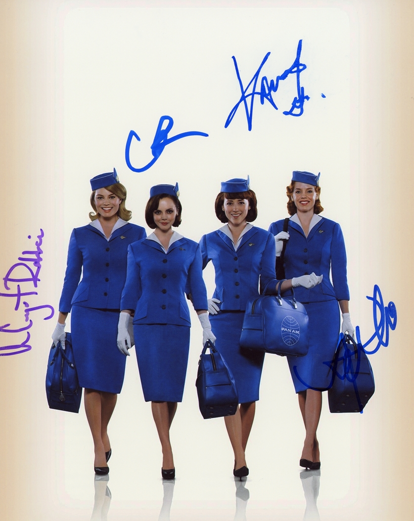 Pan Am Signed Photo