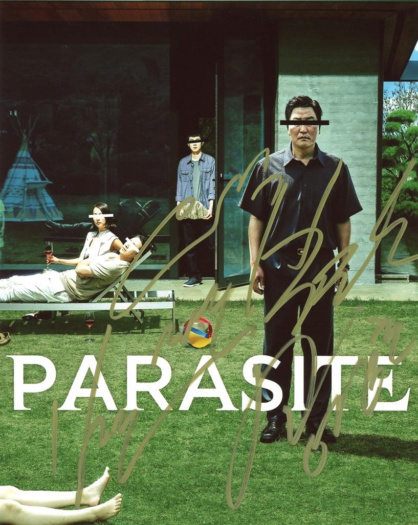 Parasite Signed Photo