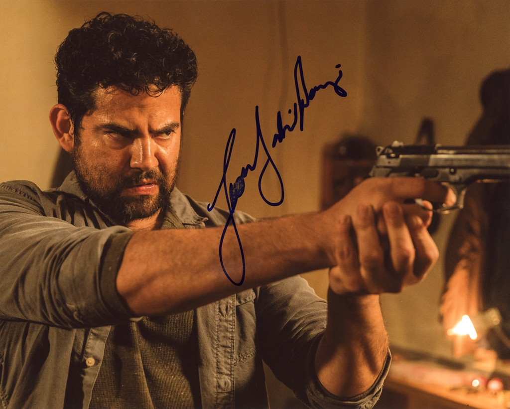 Juan Gabriel Pareja Signed Photo