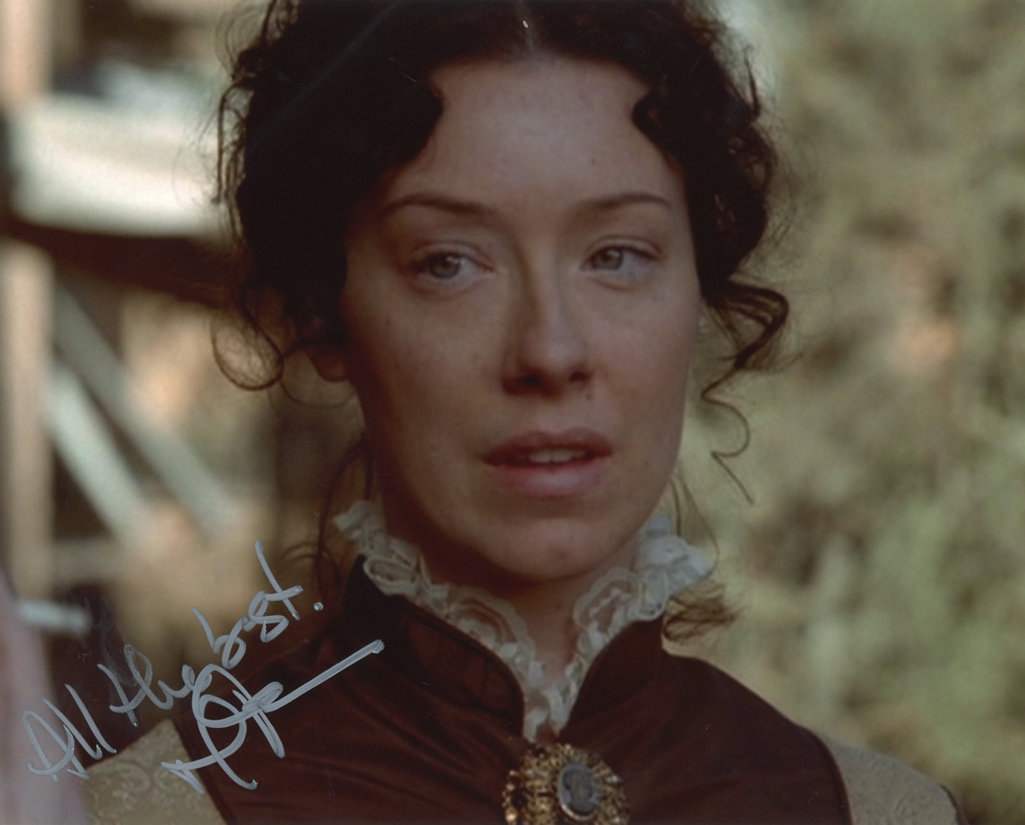 Molly Parker Signed Photo