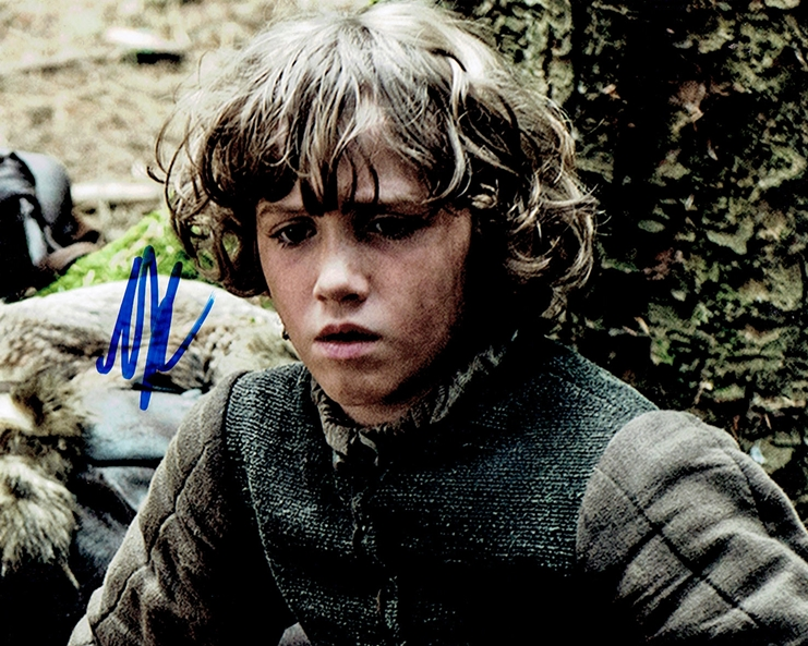 Art Parkinson Signed Photo