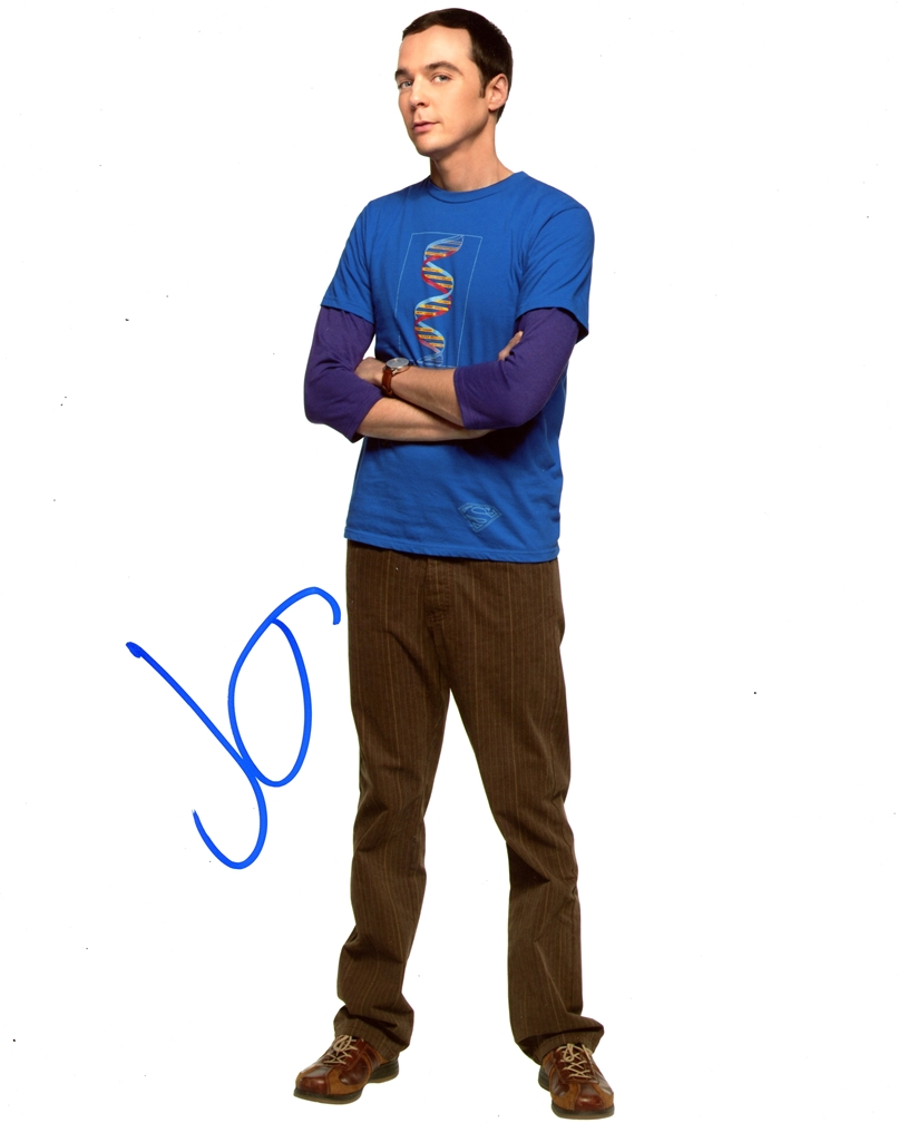 Jim Parsons Signed Photo