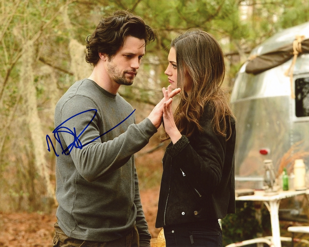 Nathan Parsons Signed Photo