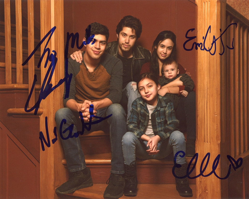 Party of Five Signed Photo