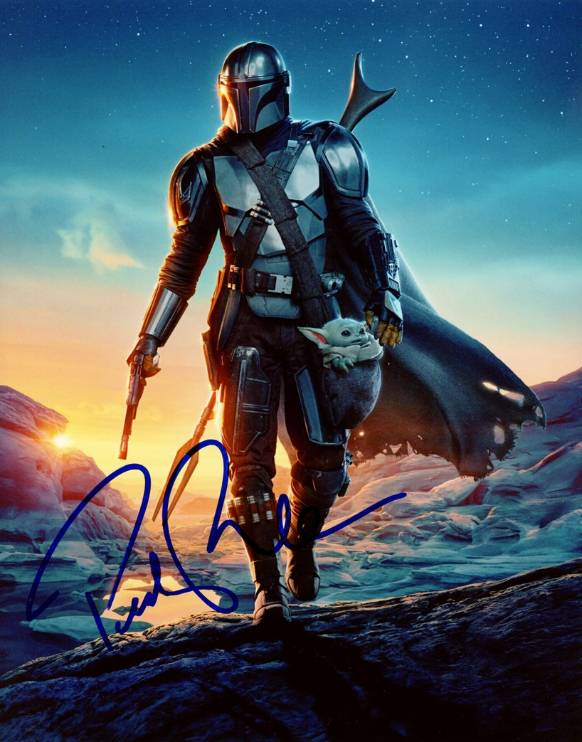 Pedro Pascal Signed Photo