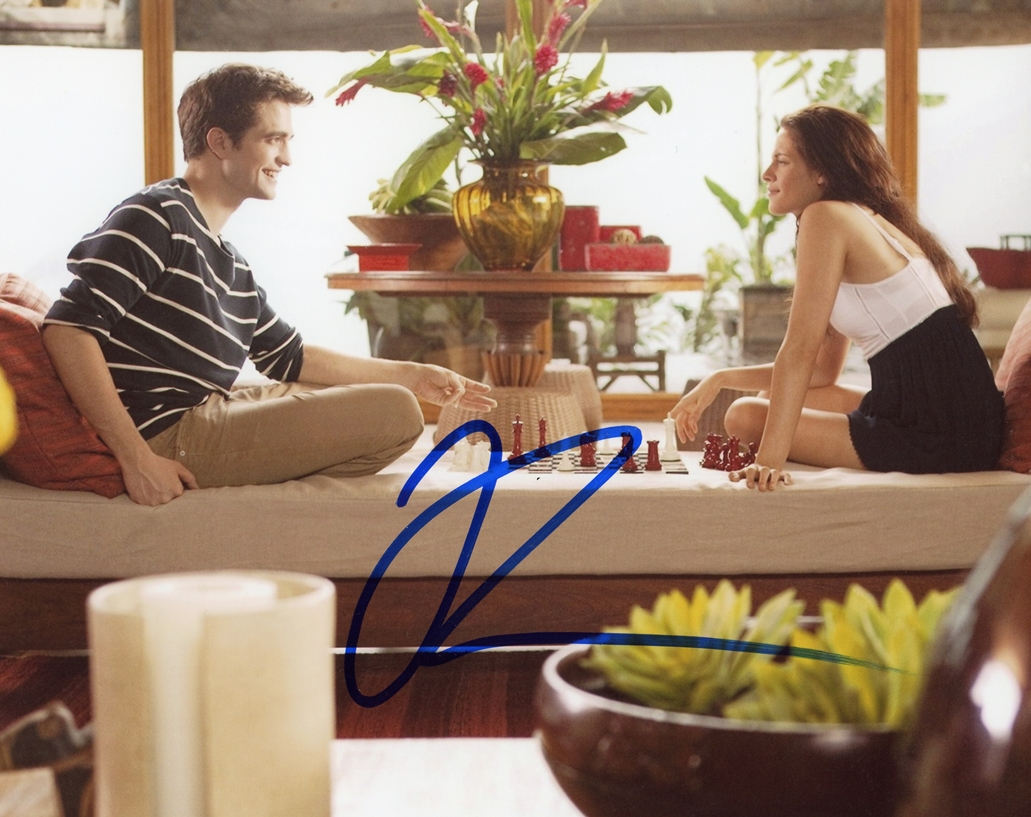 Robert Pattinson Signed Photo