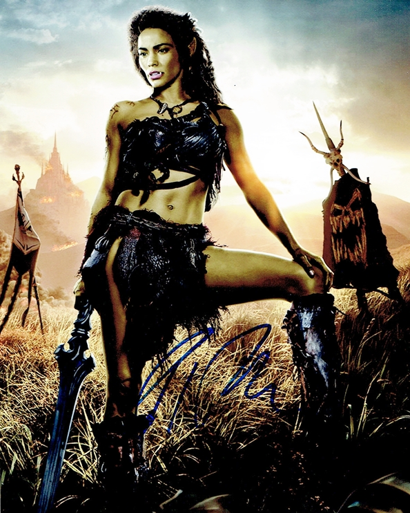 Paula Patton Signed Photo