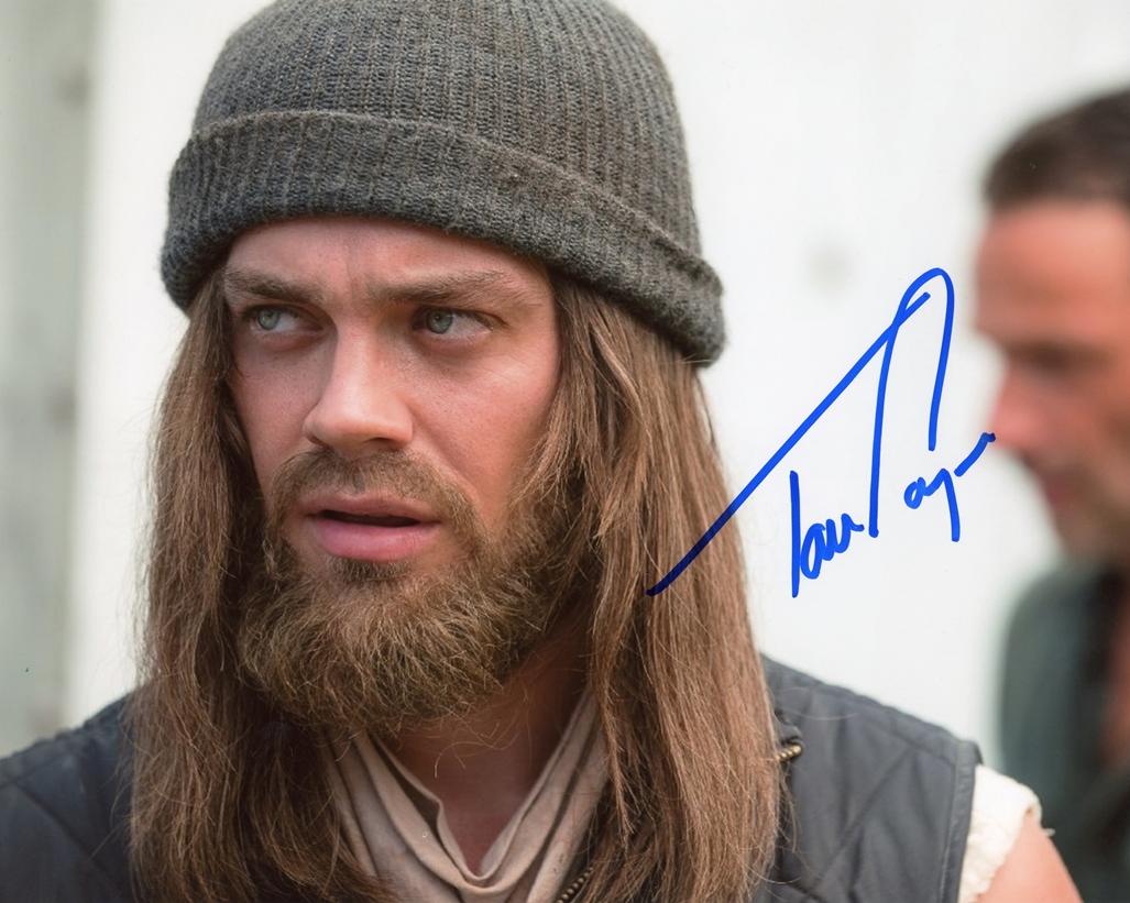 Tom Payne Signed Photo