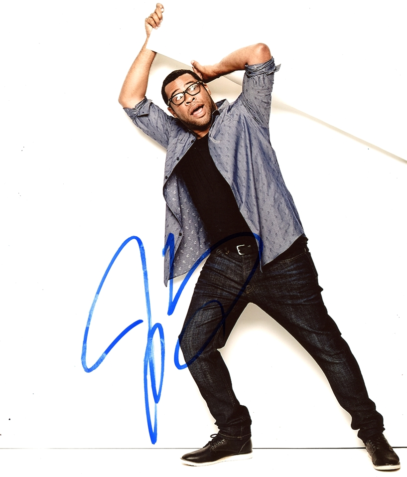 Jordan Peele Signed Photo