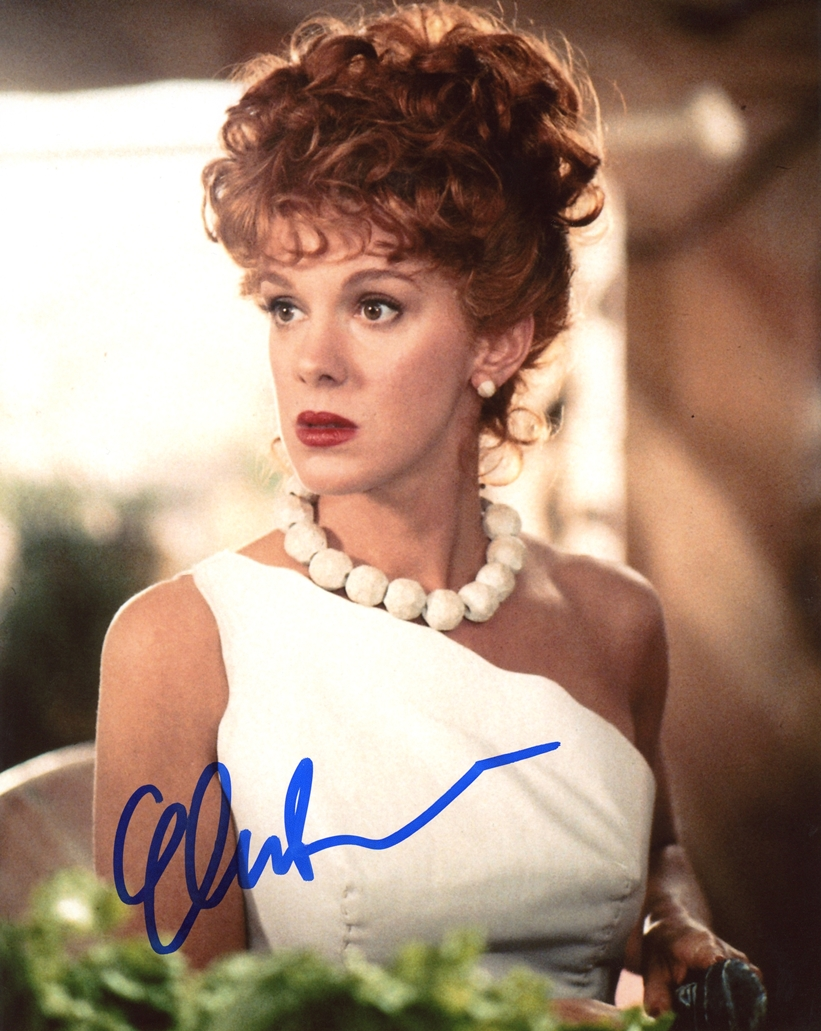 Elizabeth Perkins Signed Photo