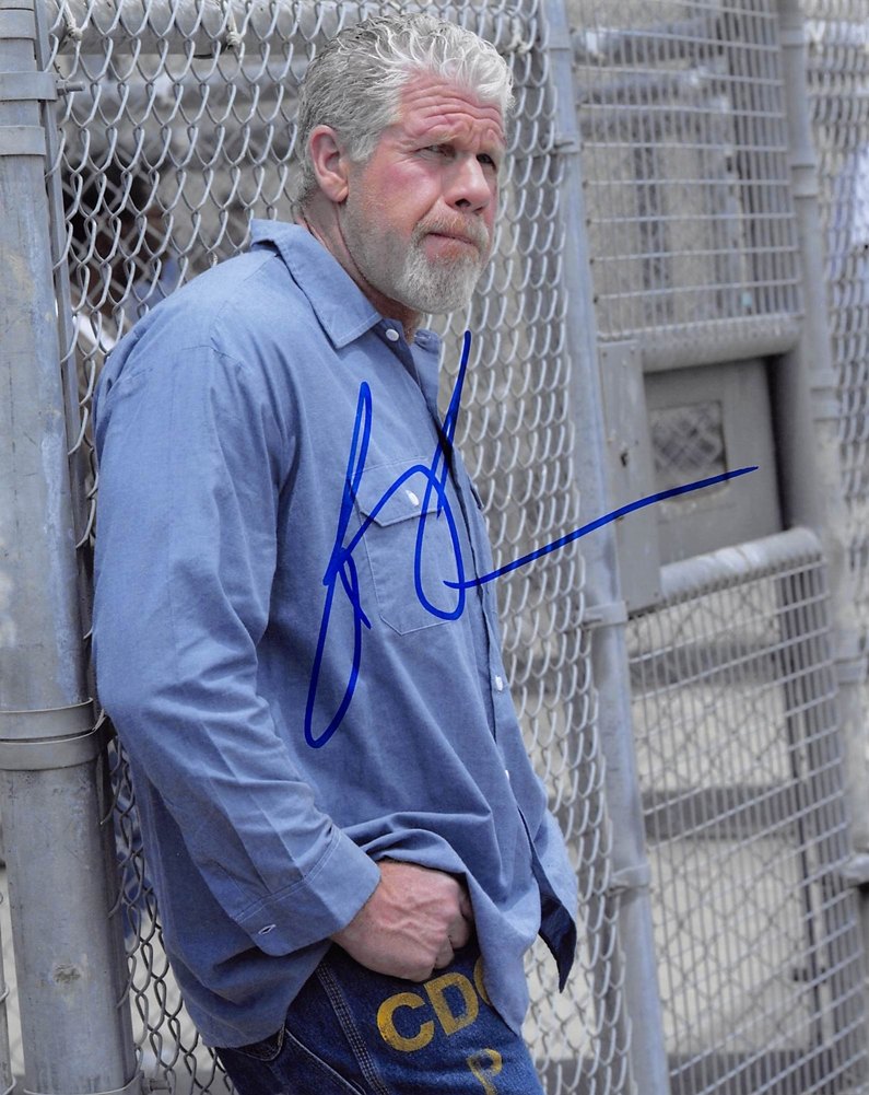 Ron Perlman Signed Photo