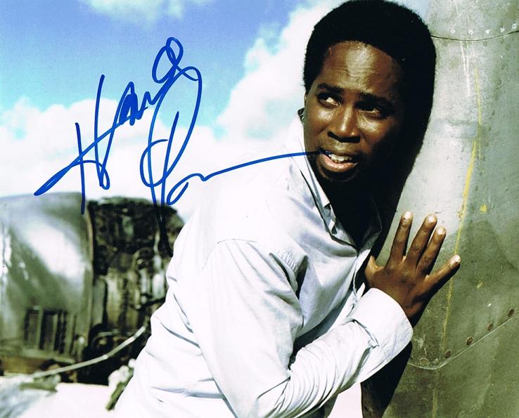 Harold Perrineau Signed Photo