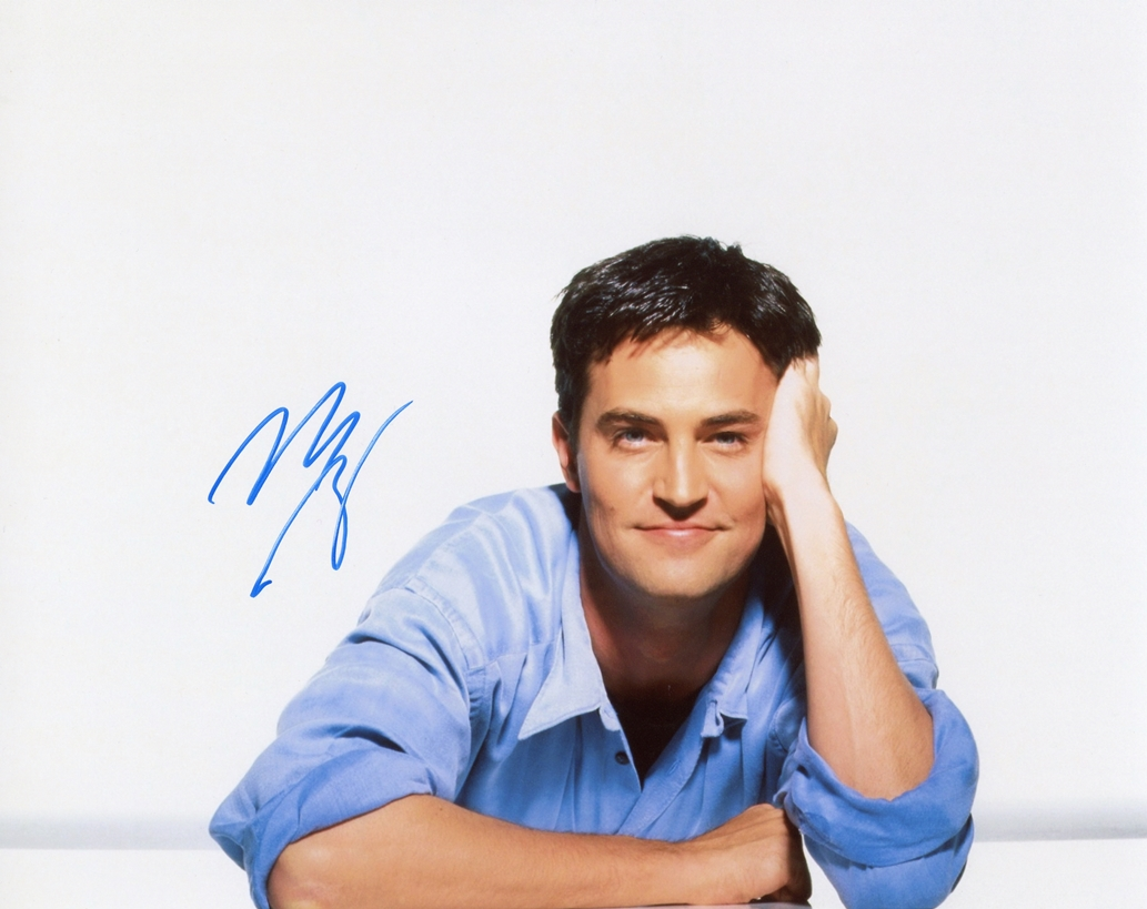 Matthew Perry Signed Photo