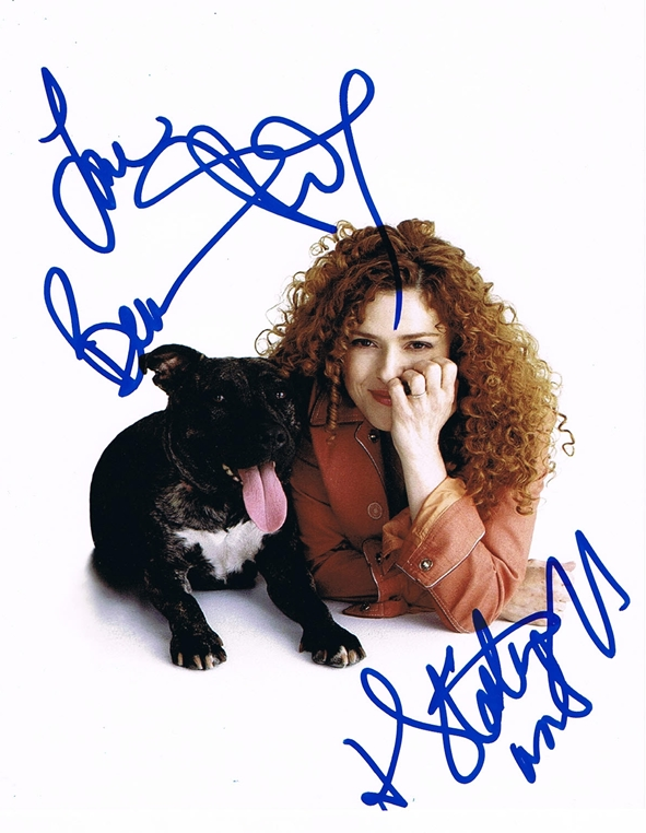 Bernadette Peters Signed Photo