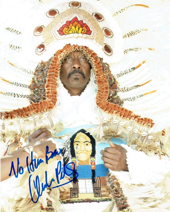 Clarke Peters Signed Photo